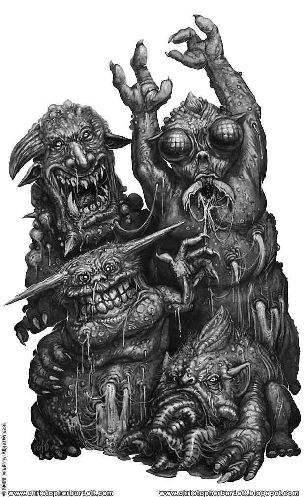 Black Crusade Nurglings Ultra gump blaster mega pack ultimate post de monstros  5