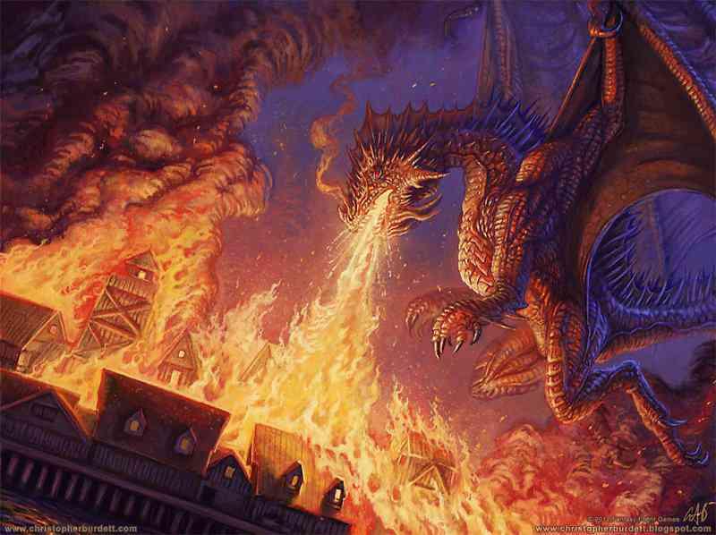 Burning of Lake Town 01 Ultra gump blaster mega pack ultimate post de monstros  5