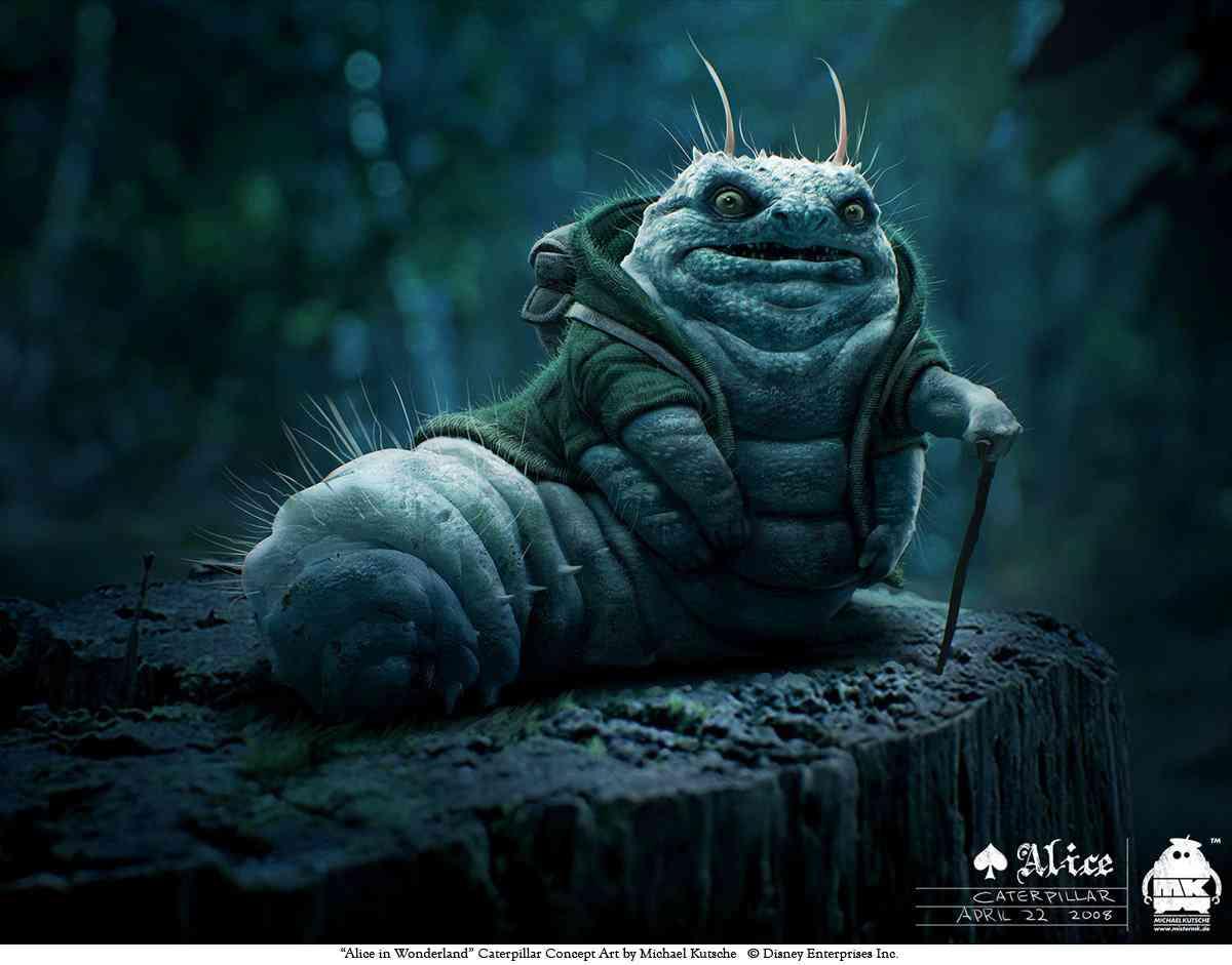 Caterpillar Character Concept1 Ultra gump blaster mega pack ultimate post de monstros  5