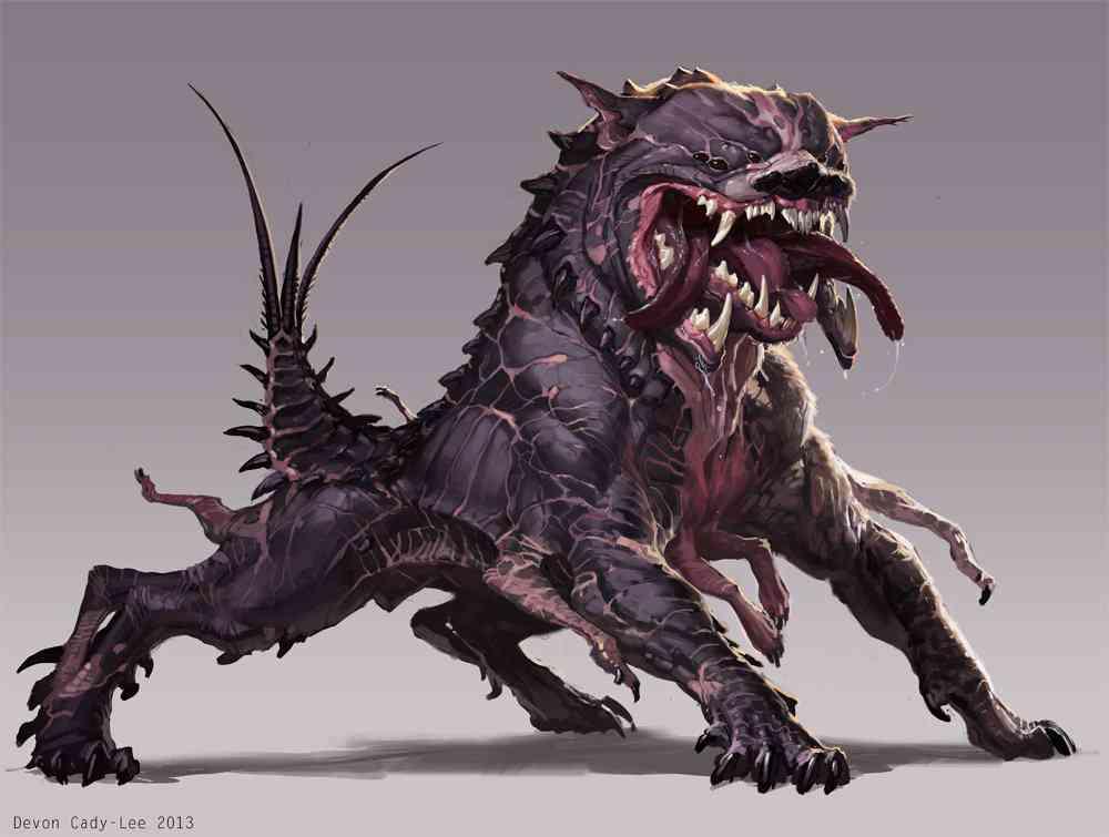 Cerberus Devon Cady Lee Ultra gump blaster mega pack ultimate post de monstros  5