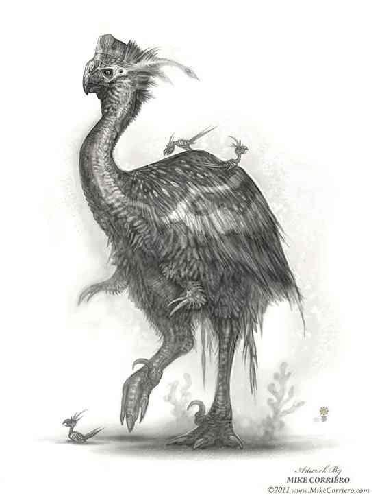 Concept Oviraptor Aug 2011 Mike Corriero Ultra gump blaster mega pack ultimate post de monstros 4