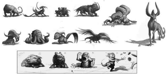 Creature sheet Ultra gump blaster mega pack ultimate post de monstros 4