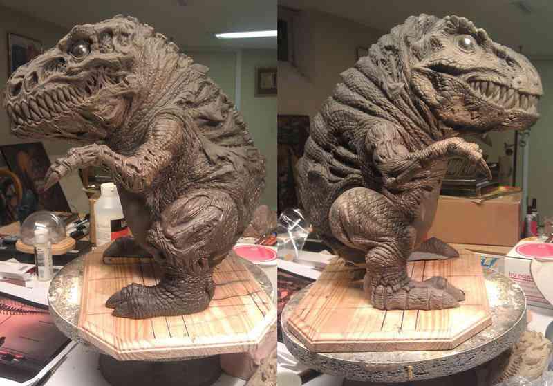 Creature spot rex Ultra gump blaster mega pack ultimate post de monstros 4
