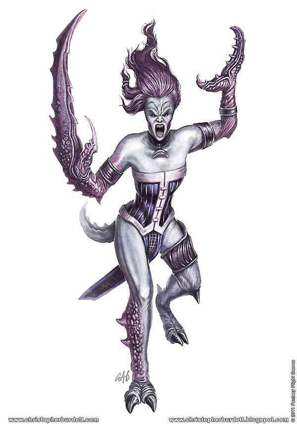 Daemon Hunter Daemonette Ultra gump blaster mega pack ultimate post de monstros 4