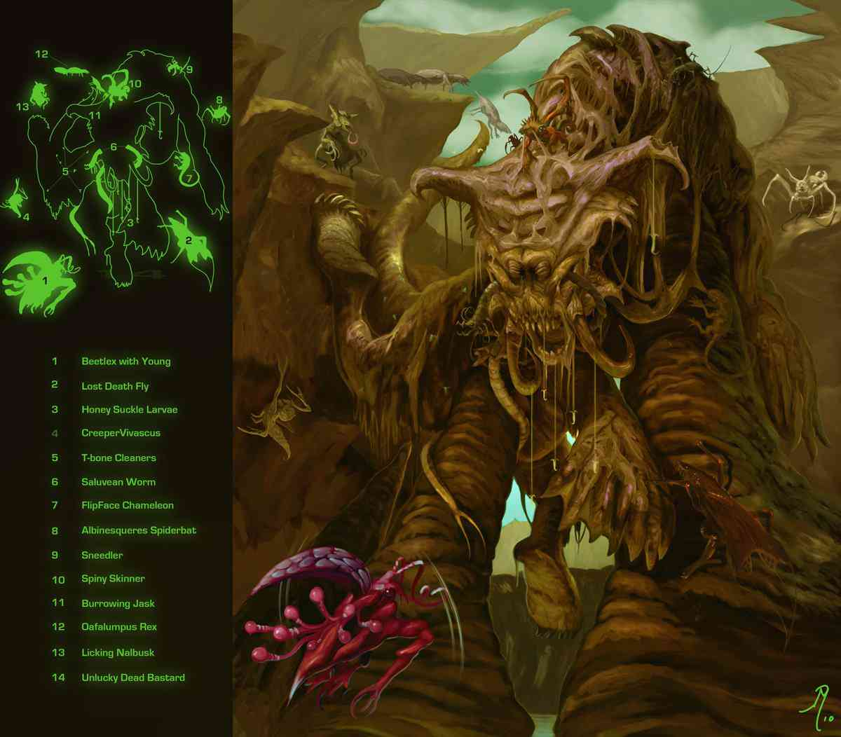 Dead behemoth Finished Ultra gump blaster mega pack ultimate post de monstros 4