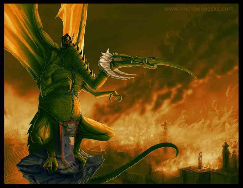 Dragon Wizard Inferno 72dpi Ultra gump blaster mega pack ultimate post de monstros 4