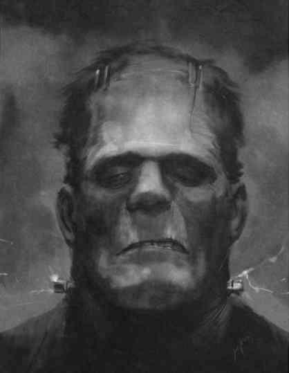 Frankenstein small Ultra gump blaster mega pack ultimate post de monstros 2