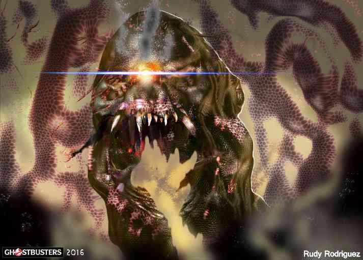 Ghostbuster fanart1  Rudy Rodriguez RRRSTUDIO wip2 Ultra gump blaster mega pack ultimate post de monstros 2