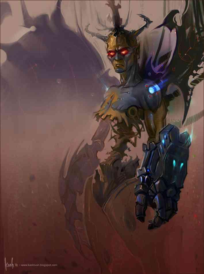 bee doodle dark  by kash  Ultra gump blaster mega pack ultimate post de monstros  5