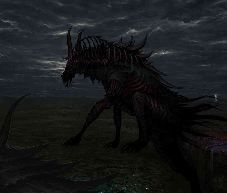 black beast concept by masterstryke d3j0ccv Ultra gump blaster mega pack ultimate post de monstros  5