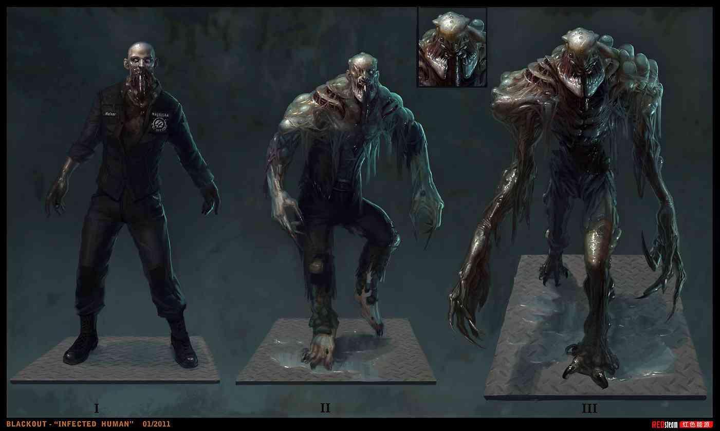 blackout redsteam CA chara infected FINAL Ultra gump blaster mega pack ultimate post de monstros  5