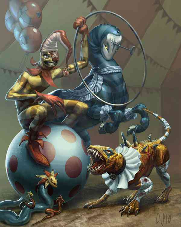 circus Ultra gump blaster mega pack ultimate post de monstros  5