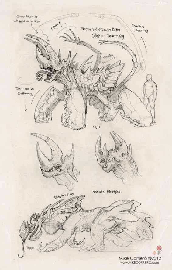 critters 2012 rept anteater Mike Corriero web Ultra gump blaster mega pack ultimate post de monstros 4
