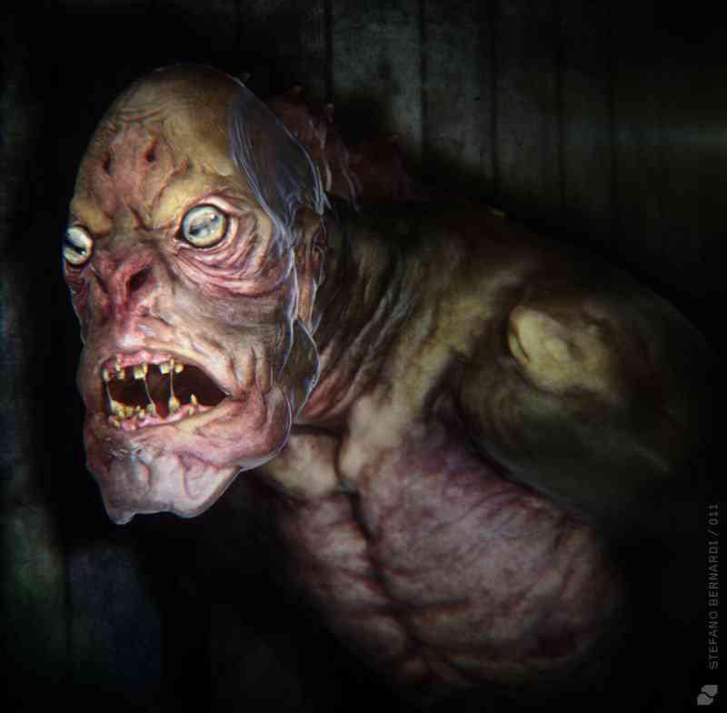 deep one render Ultra gump blaster mega pack ultimate post de monstros 4