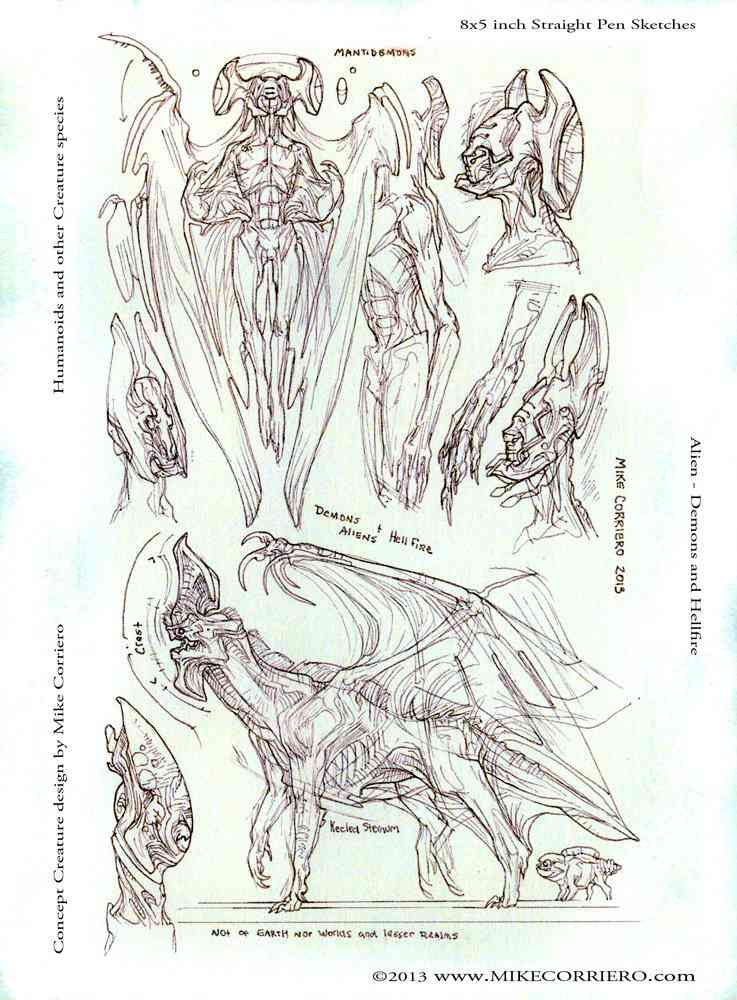 demons aliens and hellfire mikecorriero 2013 web Ultra gump blaster mega pack ultimate post de monstros 4