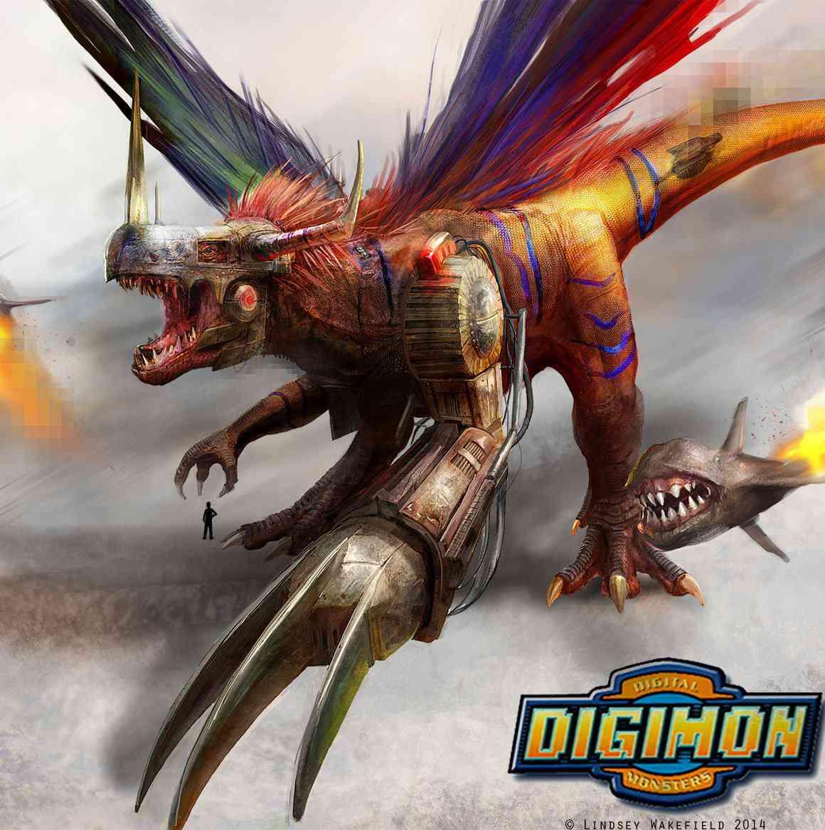 digimon  metalgreymon by twodd d71a6lk Ultra gump blaster mega pack ultimate post de monstros 4