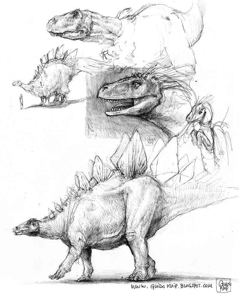 dinosaur sketches small Ultra gump blaster mega pack ultimate post de monstros 4