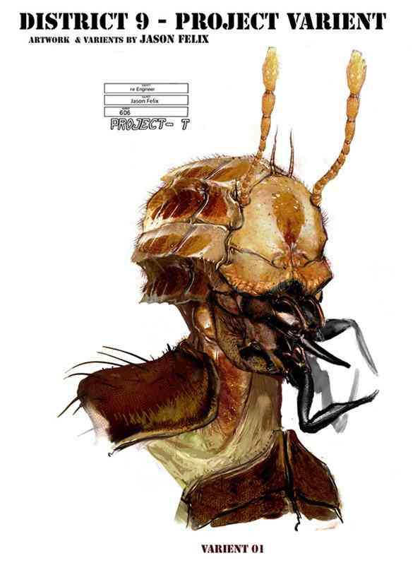 district9 redesign jasonfelix 01 Ultra gump blaster mega pack ultimate post de monstros 4