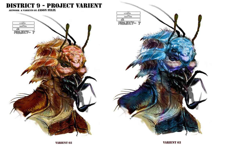 district9 redesign jasonfelix 03 Ultra gump blaster mega pack ultimate post de monstros 4