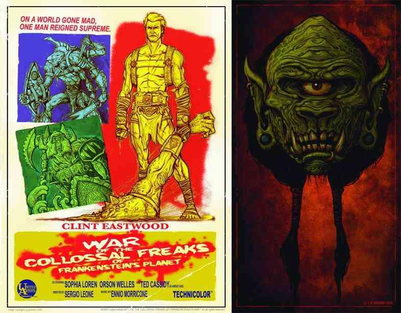 freakshow post Ultra gump blaster mega pack ultimate post de monstros 2