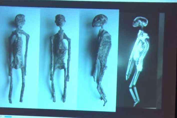 mummy aliens 1 Investigadores independentes confirmam que a estranha múmia encontrada no deserto é de um extraterrestre. Será?