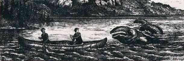 381754 v1 Monstro do lago Ogopogo reapareceu no Canadá
