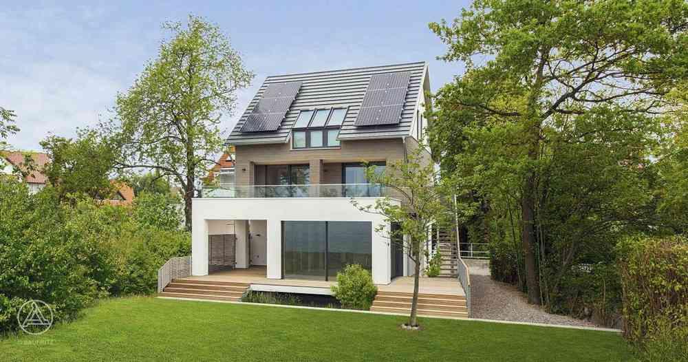 970e84bfa8a8 Uma casa na beira do lago na Alemanha