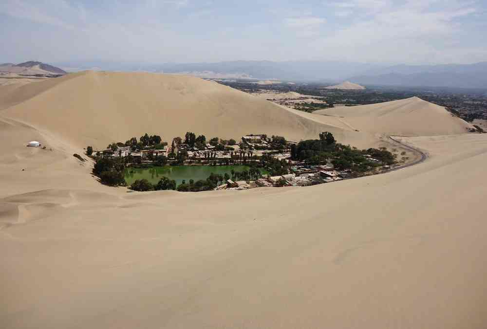 Oasis Huacachina Ica Peru Huacachina: um Oásis na América do Sul