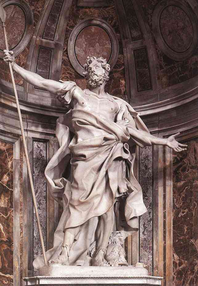 longinus Bernini, o escultor