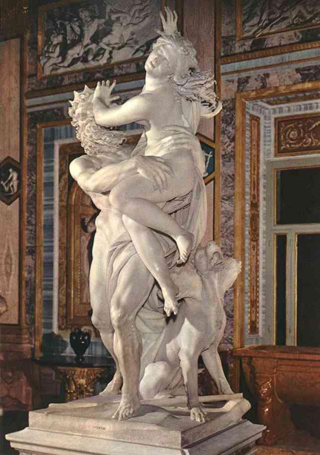 proserpi Bernini, o escultor