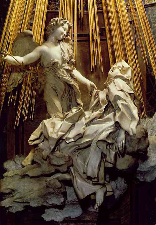 therese1 Bernini, o escultor