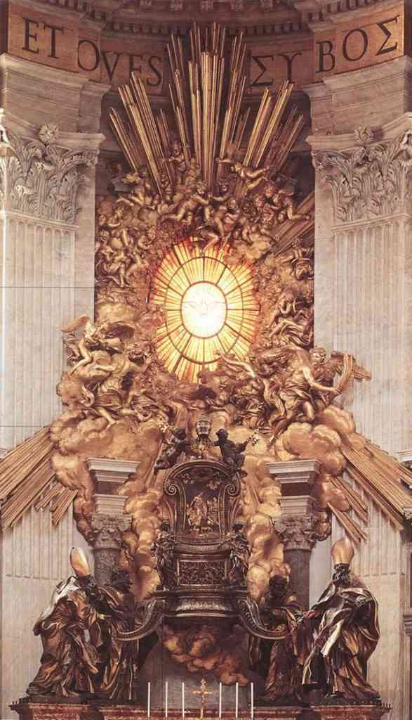 throne 587x1024 587x1024 Bernini, o escultor