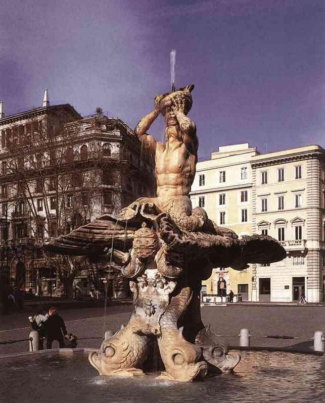 tritone1 Bernini, o escultor