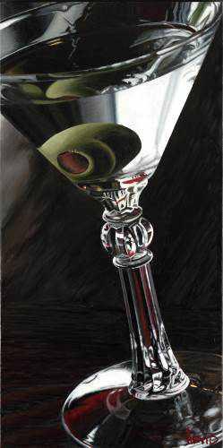 376843Classic Martini.sized As incríveis pinturas de Thomas Arvid