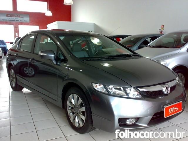 Honda Civic New LXL 1.8 i-VTEC (Couro) (aut) (Flex) - 10/11 - 47.500