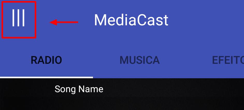 Como transmitir a rádio através de um celular android com o MediaCast