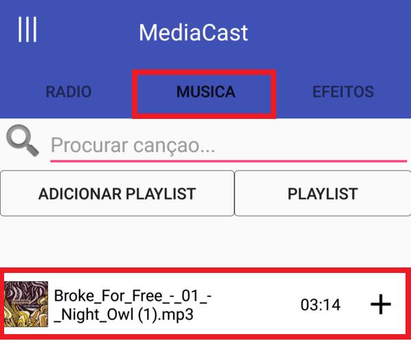 Como transmitir a rádio através de um celular com o MediaCast