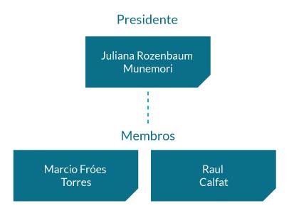Comitê para Avaliação de Transações com Partes Relacionadas: Juliana Rozenbaum Munemori (Presidente) e Raul Calfat;
