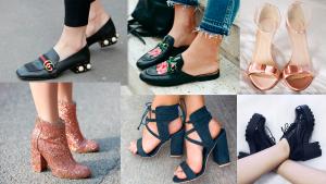 Tendências de calçados primavera-verão 2018 por Rosy Cordeiro