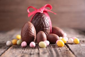 História do ovo de Páscoa