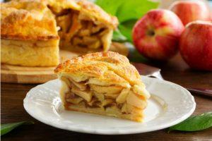 Torta de maçã crocante do prof. Marcelo Faria