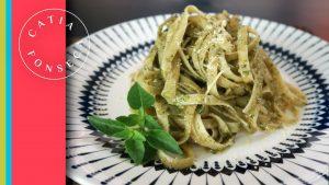 COMO FAZER: Espaguete ao Pesto