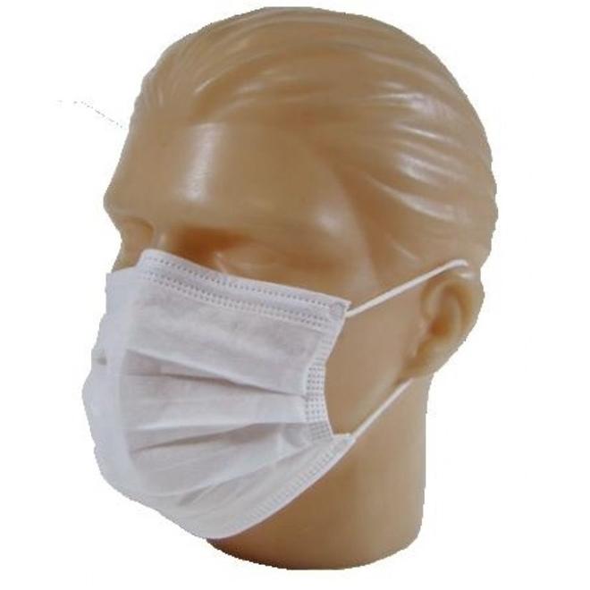 Mascara dupla c/ elastico TNT  c/ 100 KADESC