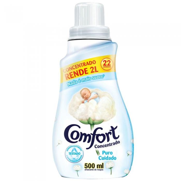 Amaciante Comfort conc Puro cuidado 500ml