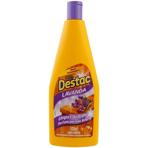Lustra moveis Destac lavanda 500ml