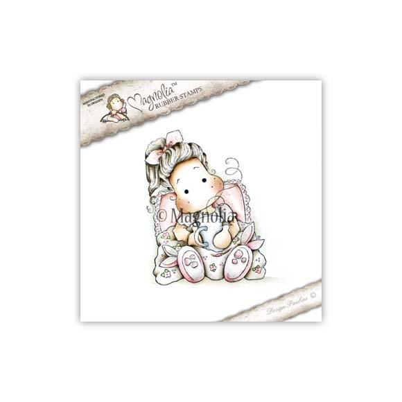 Carimbo Magnolia GW - Sweet Tilda with Bunny Sleppers