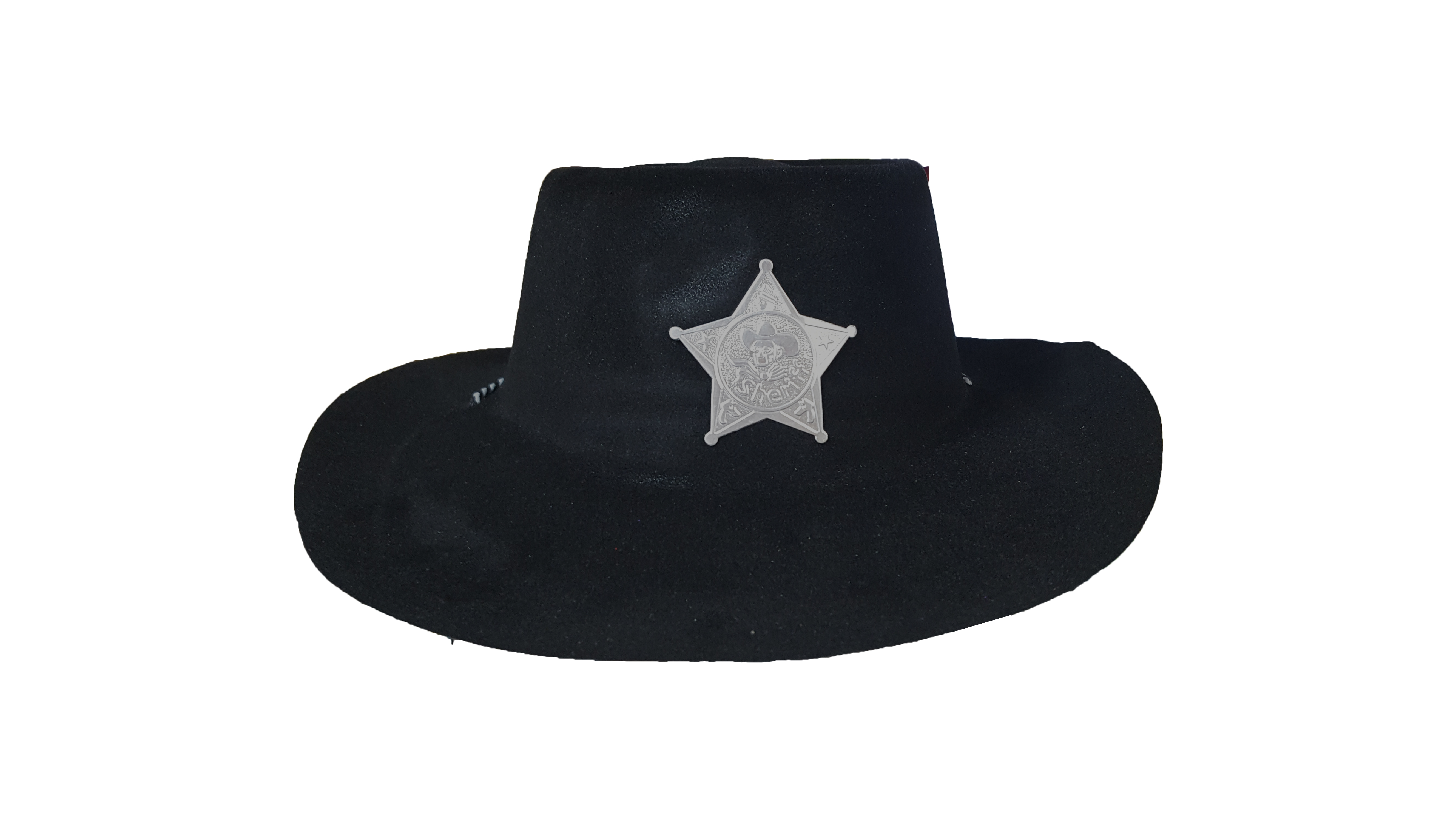 CHAPEU SHERIFF PRETO