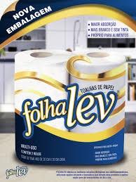 Papel toalha Folhalev 50fl 2un