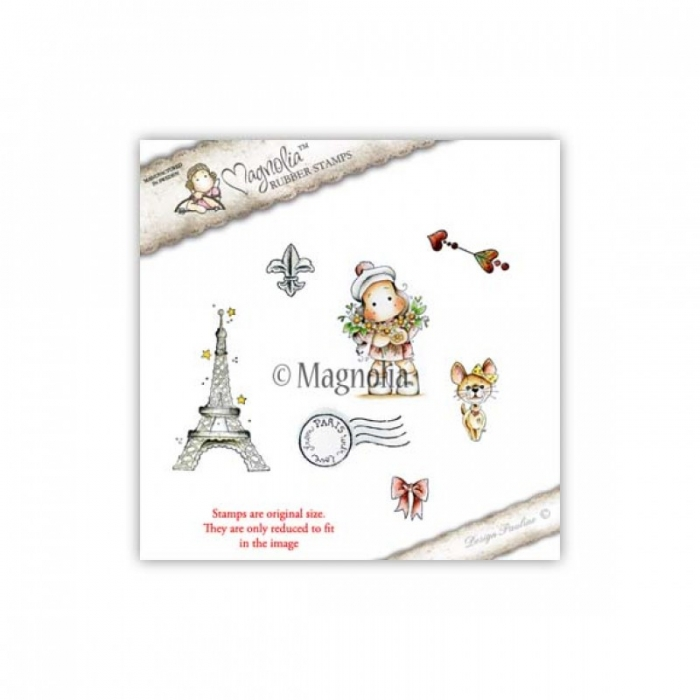 Carimbo Magnolia MD - With Love From Paris