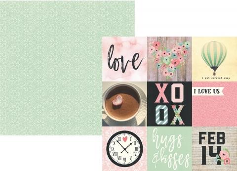 Papel 4x4 Elements - Romance - Simp...